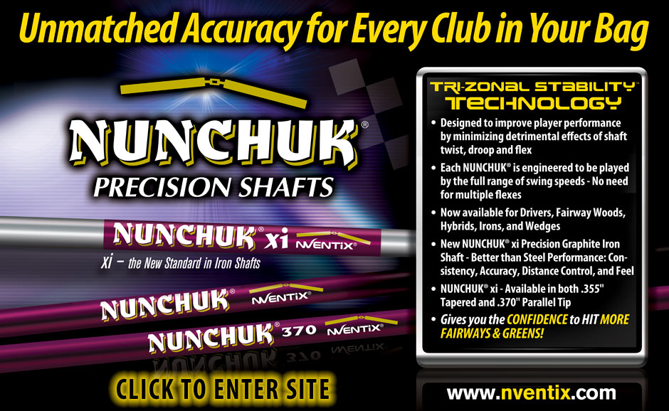 Welcome to nVentix Golf - Home of the Complete Line of Nunchuk Precision Golf Shafts